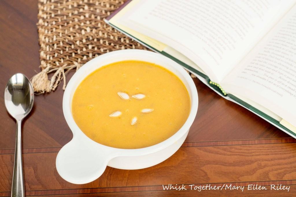 Harvest Pumpkin Soup_4 on Whisk Together