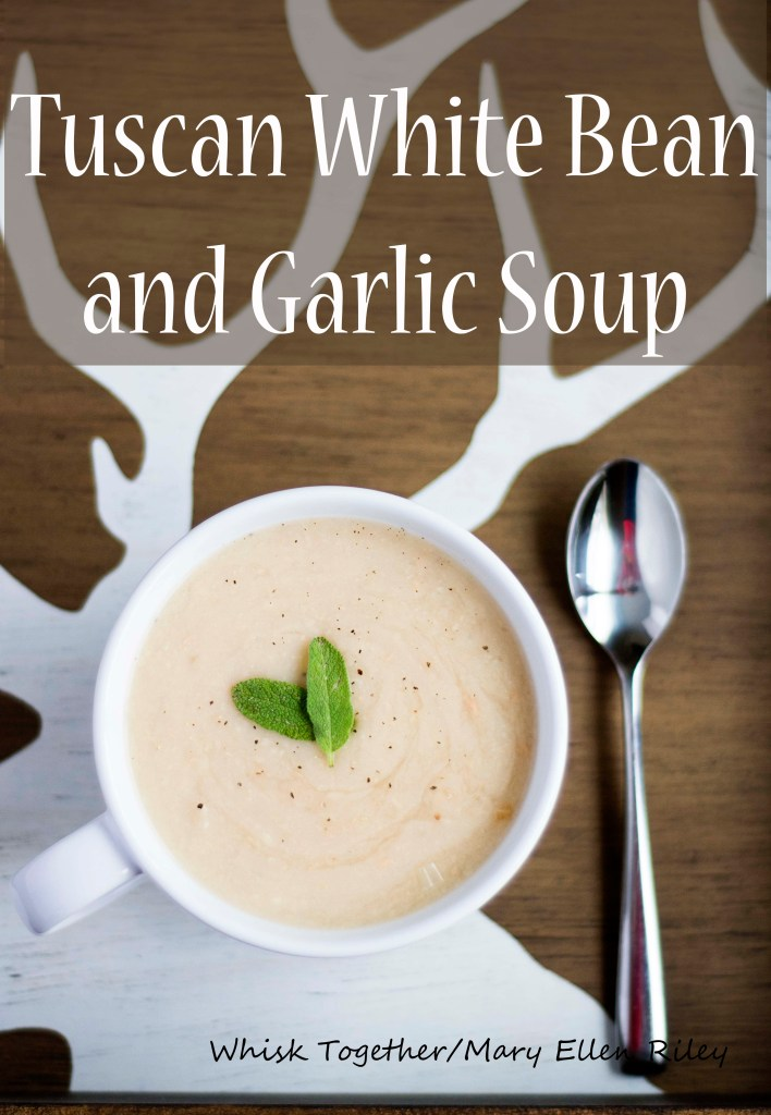Tuscan White Bean and Garlic Soup_2 on Whisk Together