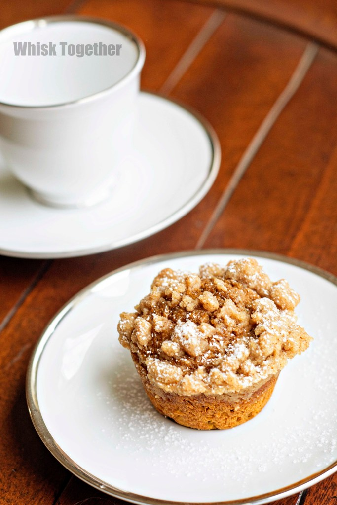 Pumpkin Crumb Muffin on Whisk Together