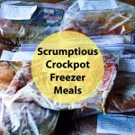 Scrumptious Crockpot Freezer Meal Plan