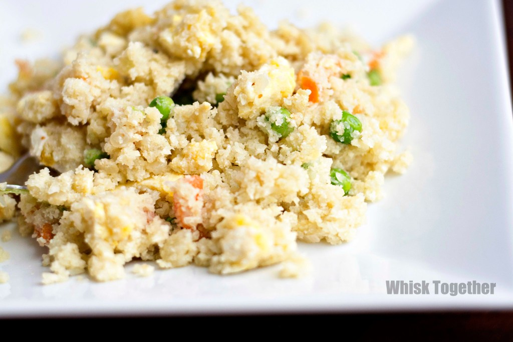 Cauliflower Fried Rice_2 on Whisk Together