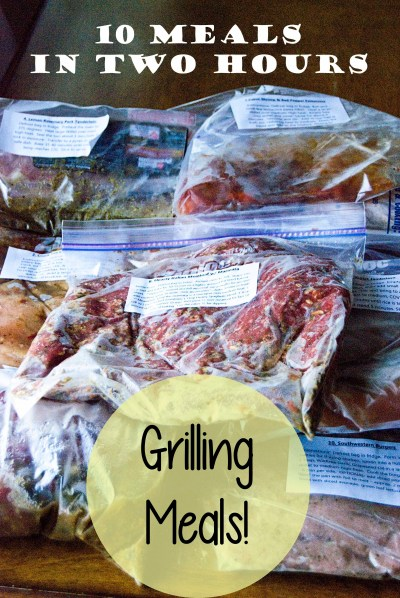 Grilling Freezer Workshop