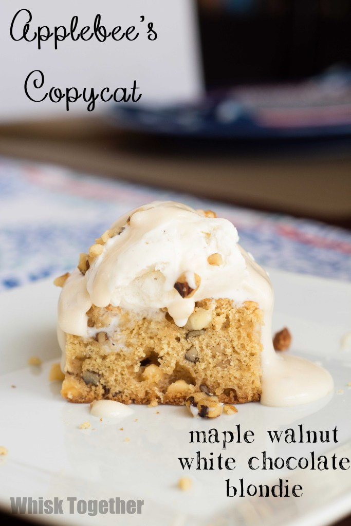 Maple Walnut Blondie-1637 on Whisk Together
