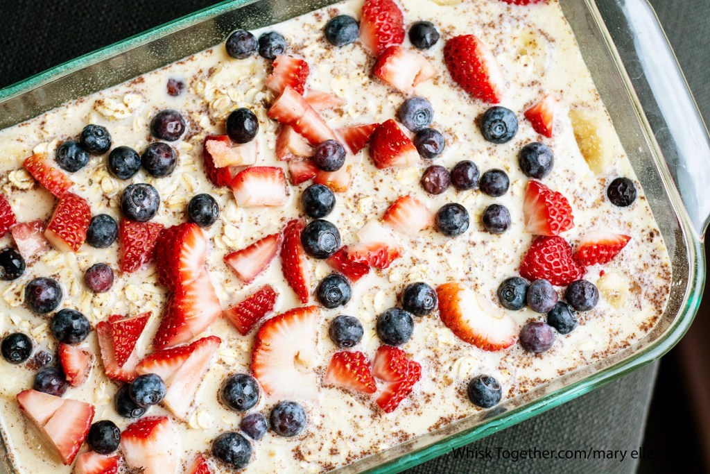 Berry Baked Oatmeal-1909 on Whisk Together