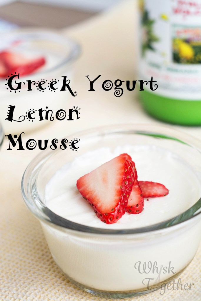 Yogurt Lemon Mousse-2217 on Whisk Together