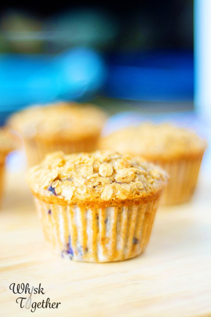 Granola Blueberry Muffins-2666 on Whisk Together