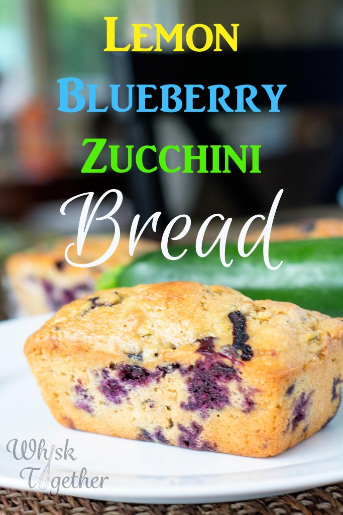 Lemon Blueberry Zucchini Bread-3102 on Whisk Together