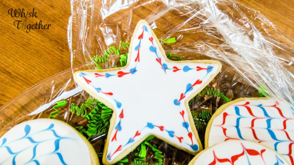 Red White and Blue Cookies-083617 on Whisk Together