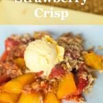 Mango Strawberry Crisp