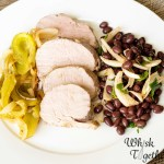 Pork Tenderloin and Beans: 30 Minute Meal