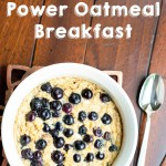 Individual Power Oatmeal Breakfast