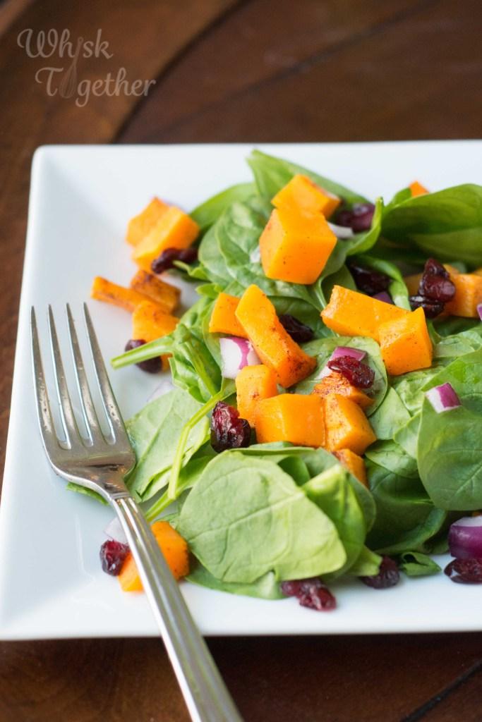 Butternut Squash Salad on Whisk Together-5531