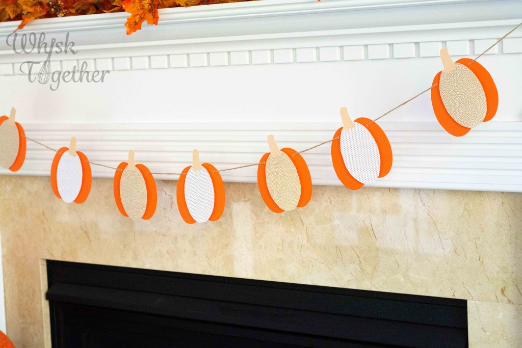Pumpkin Garland Craft on WHisk Together-5445