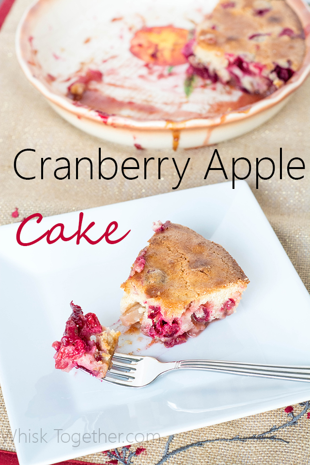 Cranberry Cake-Whisk Together