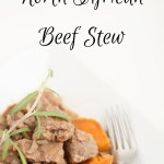 North African Beef Stew & Book Review