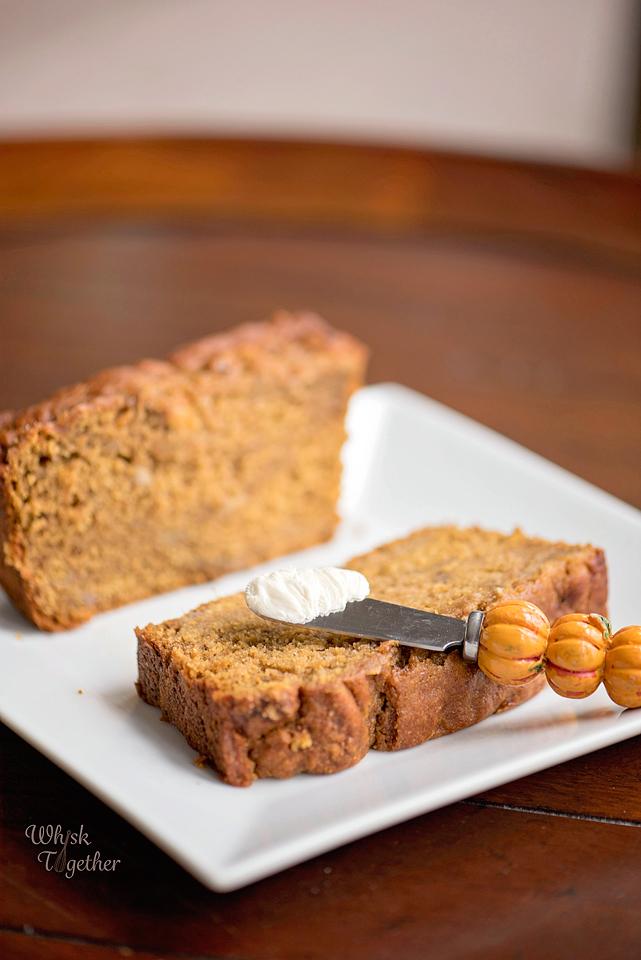 Pumpkin Banana Bread-0008 on Whisk Together