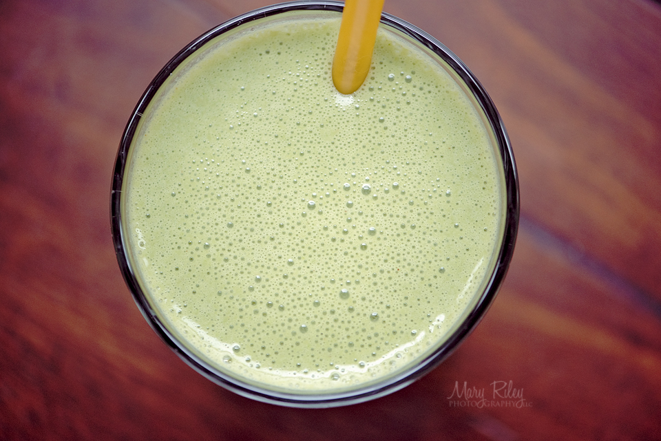 Peanut Butter Spinach Smoothie 2 Mary Riley Photography Wentzville Missouri