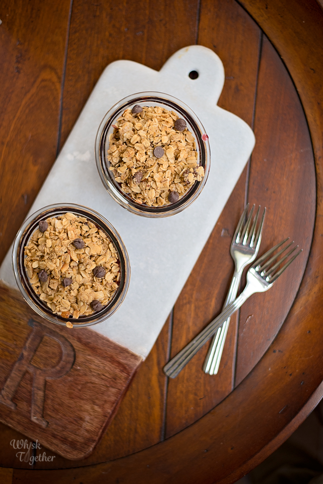 Chocolate Cherry Granola Crisp No Bake 5