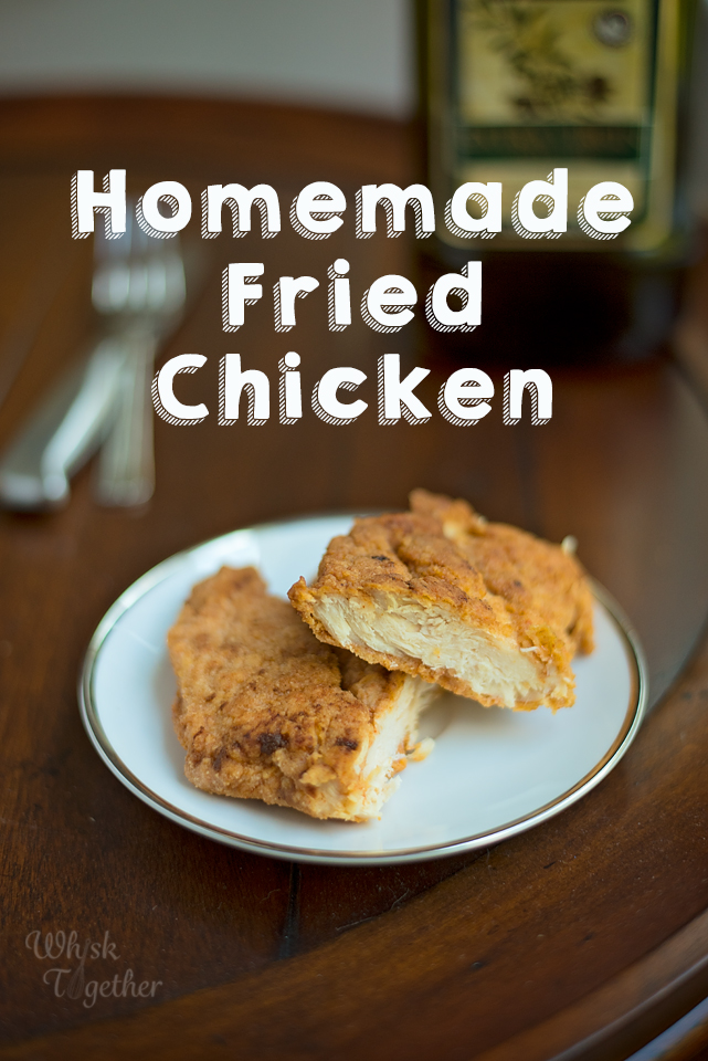 fried chicken breast recipe with olive oil