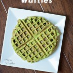 Power Spinach Waffles