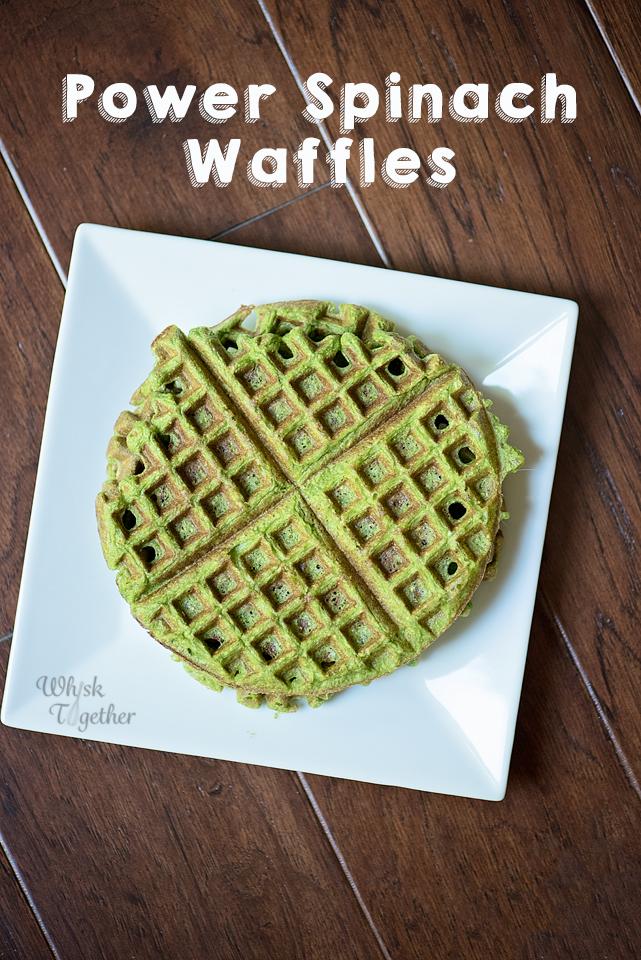 waffle, breakfast, spinach waffle, recipe