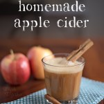 Fresh Homemade Apple Cider