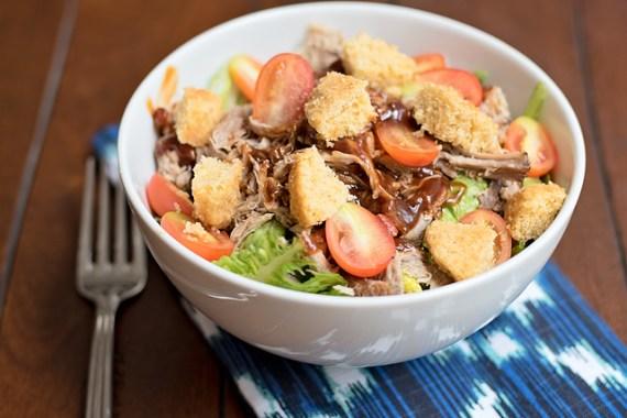 Smoked Pork Salad & Book Review