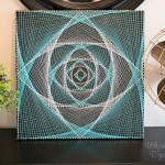 Magic Eye String Art