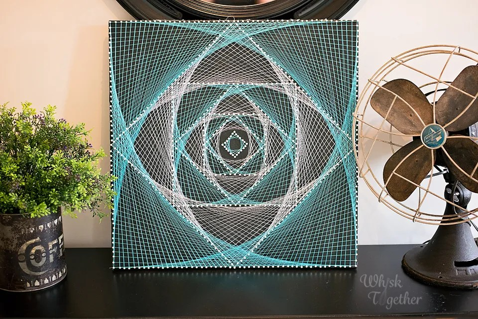 magic eye string art. Black Bedroom Furniture Sets. Home Design Ideas