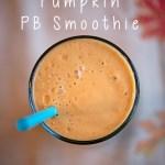 Banana Pumpkin PB Smoothie