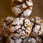 Gingerbread Crinkle Cookies