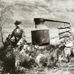 Illegaler Brenner mit Brennblase Still