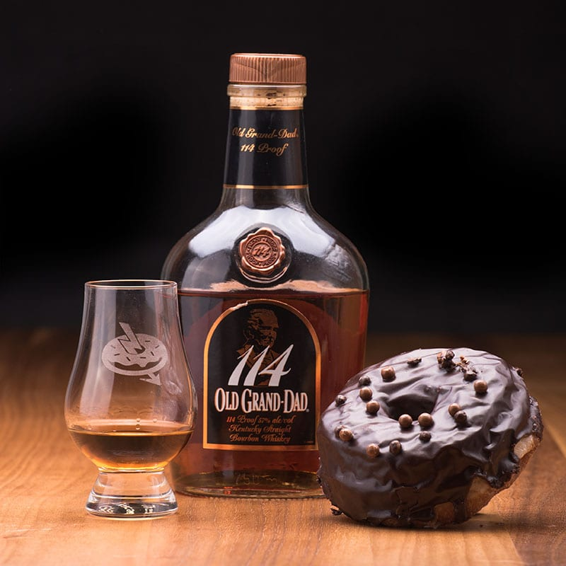 Old Grand Dad 114 | Chocolate - Whisky and DonutsOld Grand Dad 114 | Chocolate - Whisky and Donuts