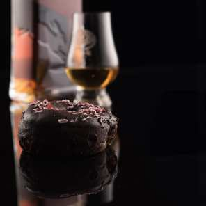 Rabbit Hole Bourbon PX Sherry | Chocolate Peppermint - Whisky And Donuts - WhiskyAndDonuts.com