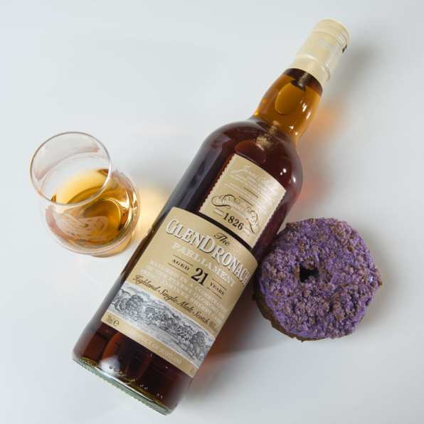 Glendronach 21 Parliament | Ube - WhiskyAndDonuts.com - Whisky And Donuts