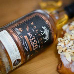 Wolfburn No. 128 | Almond Vanilla Butterfly- Whisky And Donuts - WhiskyAndDonuts.com
