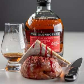 Glenrothes Whisky Maker's Cut | Pop Tart & Raspberry - Whisky And Donuts - WhiskyAndDonuts.com