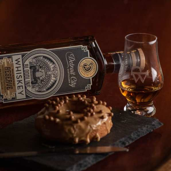 Detroit City Distillery Bloodline   Salted Caramel - Whisky And Donuts - WhiskyAnd Donuts.com