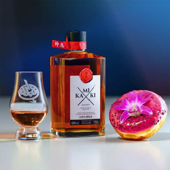 Kamiki Blended - The Royal Dragon - Whisky And Donuts - WhiskyAndDonuts.com