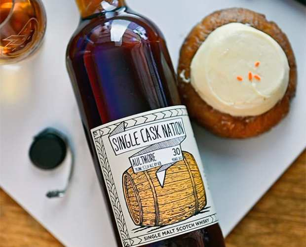 Single Cask Nation Aultmore 30 - Whisky And Donuts - WhiskyAndDonuts.com