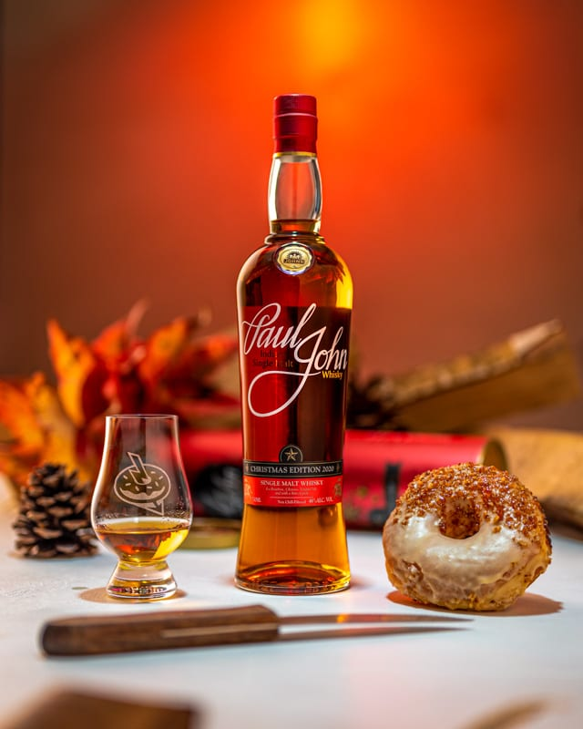 Paul John Christmas Edition 2020 - Pecan Praline - Whisky And Donuts - WhiskyAndDonuts.com