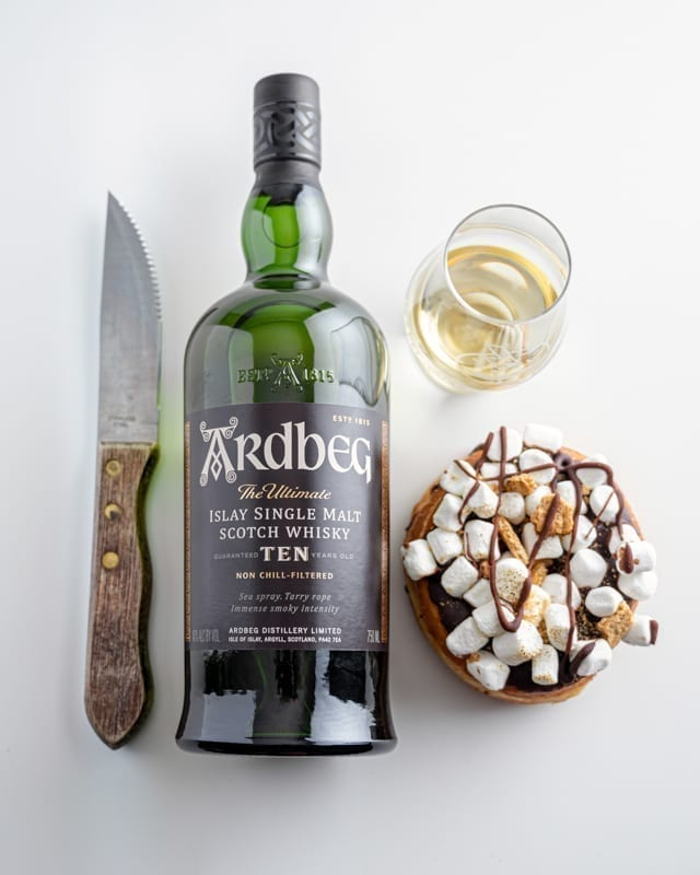 Ardbeg 10 | S'Mores - Whisky And Donuts - WhiskyAndDonuts.com