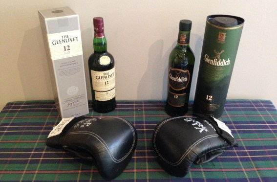 Glenfiddich versus Glenlivet – who will win the heavyweight title bout?