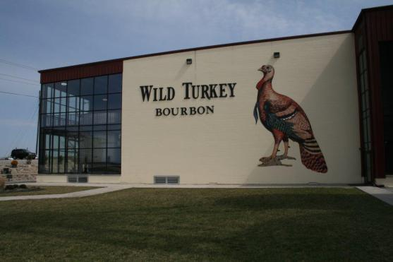 The Wild Turkey stillhouse.
