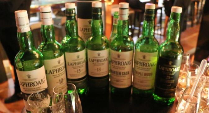 An evening with Laphroaig & John Campbell