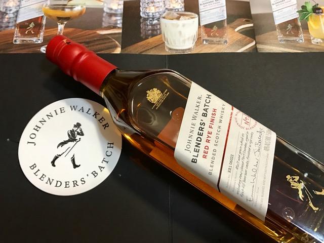Johnnie Walker Blenders' Series: Red Rye Finish