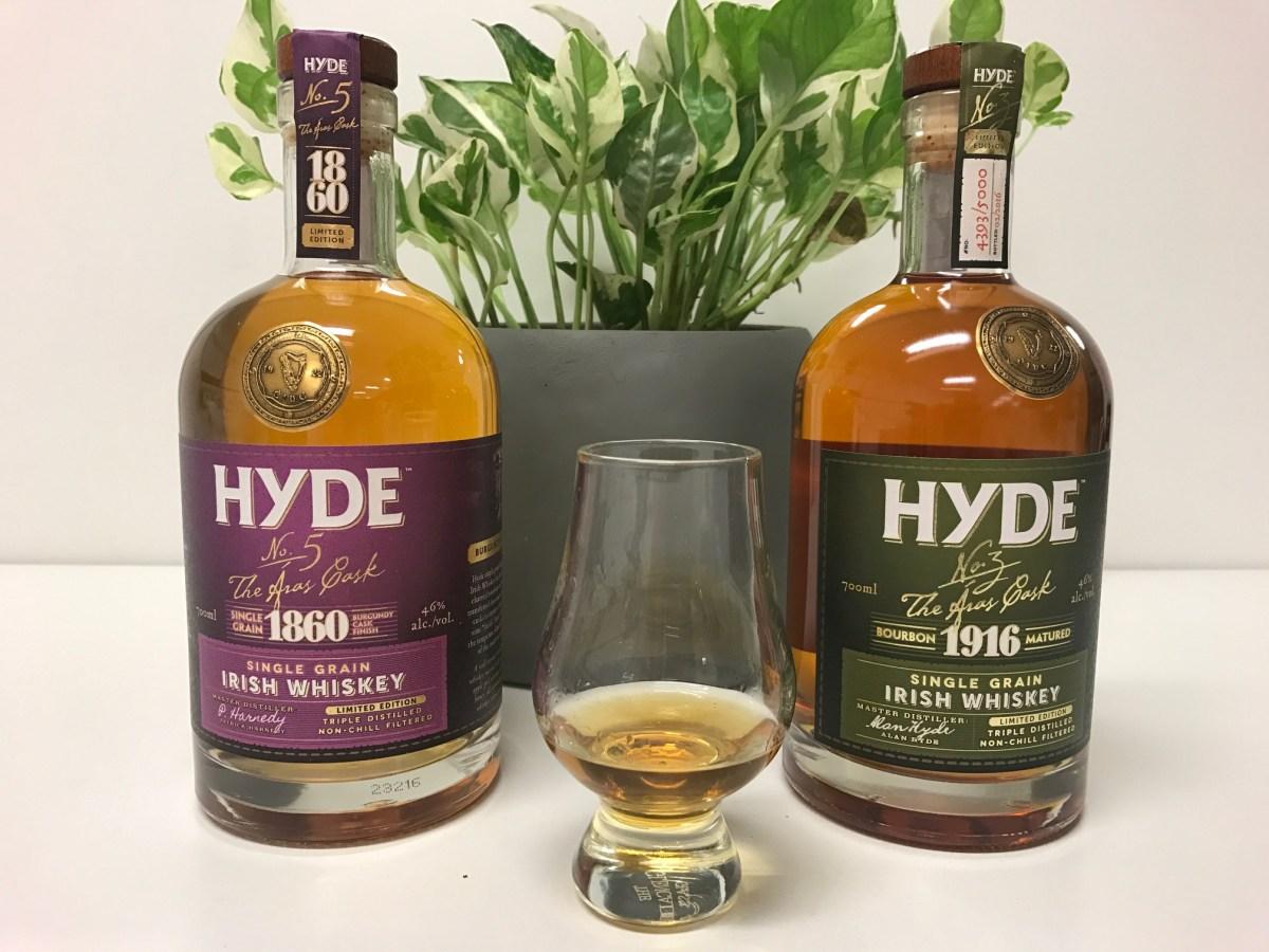 Hyde Single Grain Whiskey – The Aras Cask releases