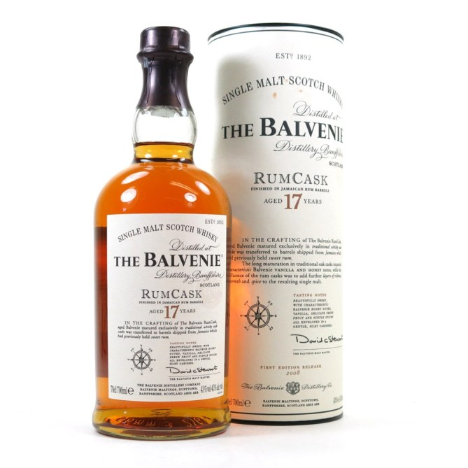 Image result for balvenie 17 rum cask