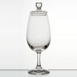 image of a coptia nosing glass with lid