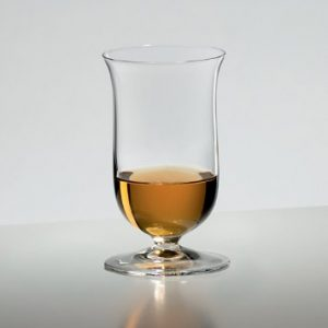 an image of the Riedel whisky glass with whisky